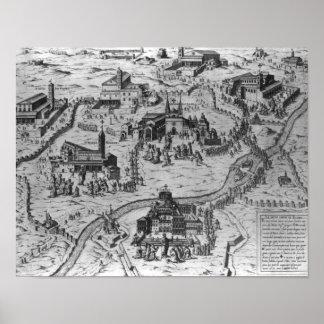 Le Sette Chiesaのディディミアムローマ1575年 ポスター