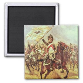 「Le Trophee」、1806年の第4竜騎兵の連隊1898年 マグネット