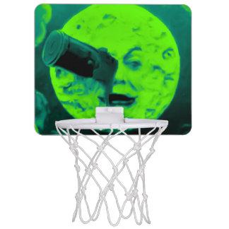 Le VoyageのdansのlaのLuneのヴィンテージレトロの曖昧な火星人 ミニバスケットボールネット