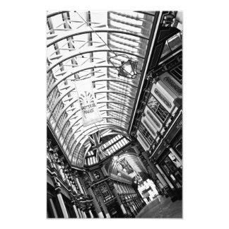 Leadenhallの市場ロンドン フォトプリント
