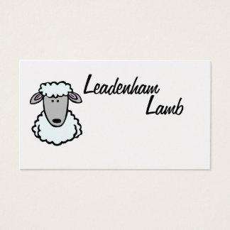Leadenhamの子ヒツジの名刺 名刺