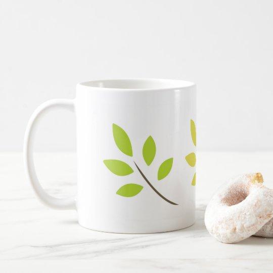 Leaf cup コーヒーマグカップ