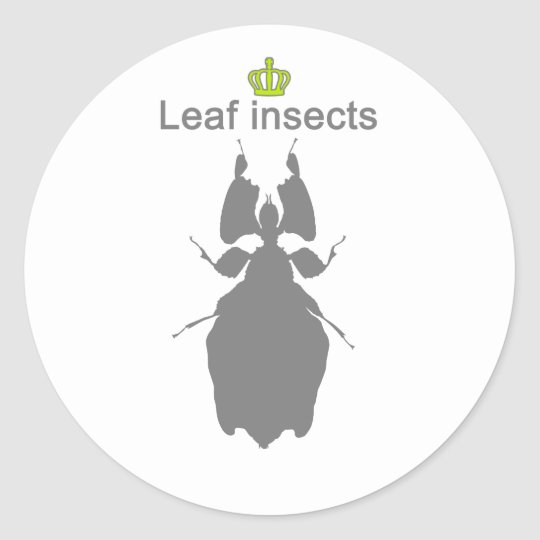 Leaf insects g5 ラウンドシール