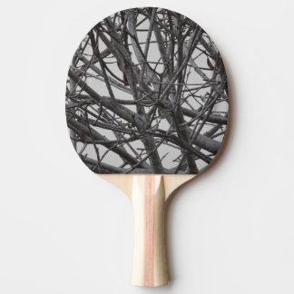 Leaflessツリーブランチの卓球ラケット 卓球ラケット