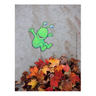 leafpile強盗 ポストカード