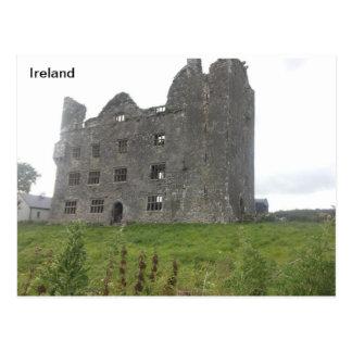 Leamenahの城、Coドクレア、アイルランド ポストカード