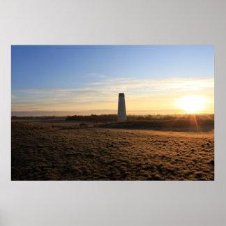 Leasoweの灯台 ポスター