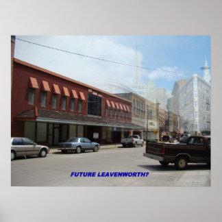Leavenworthカンザスの未来 ポスター