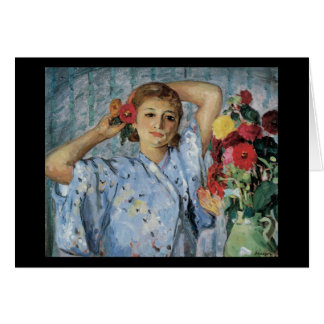 Lebasque Jeune Femmeの補助のフルーア カード