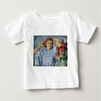 Lebasque Jeune Femmeの補助のフルーア ベビーTシャツ