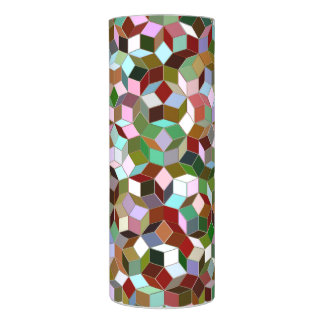 LEDの蝋燭(ステンドグラス)をタイルを張るPenrose LEDキャンドル