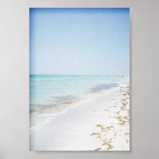 Ledoのビーチ ポスター
