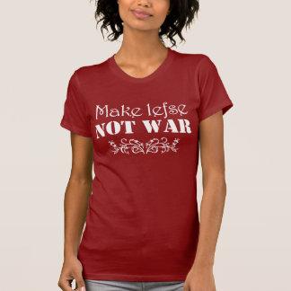 Lefse戦争のおもしろいなスカンジナビアのTシャツではなくを作って下さい Tシャツ