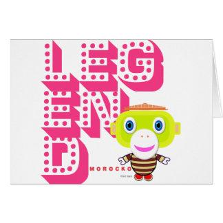 Legend-Cute Monkey-Morocko カード