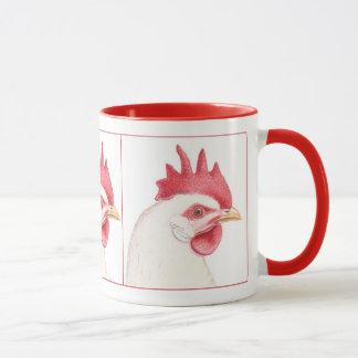 Leghornのオンドリ マグカップ