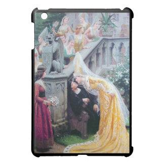 leightonキスの中世女性のキスをするな人 iPad miniケース