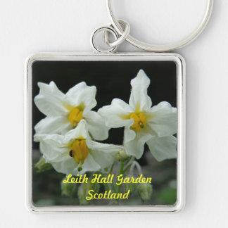 Leithホールの庭の花のキーホルダー キーホルダー
