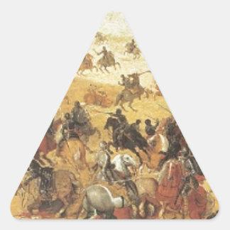 Lekkerbeetje、Vughterheide (オランダ)の戦い 三角形シール