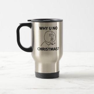 LeMeのミームを釣りますなぜクリスマス釣らないで下さい トラベルマグ