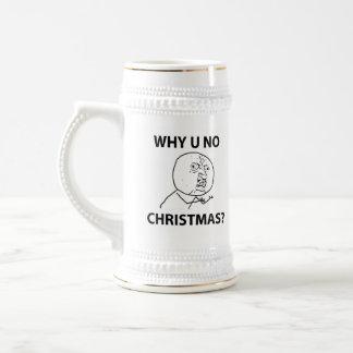 LeMeのミームを釣りますなぜクリスマス釣らないで下さい ビールジョッキ
