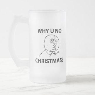 LeMeのミームを釣りますなぜクリスマス釣らないで下さい フロストグラスビールジョッキ