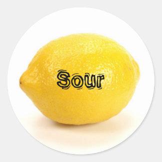 Lemon_02 丸型シール