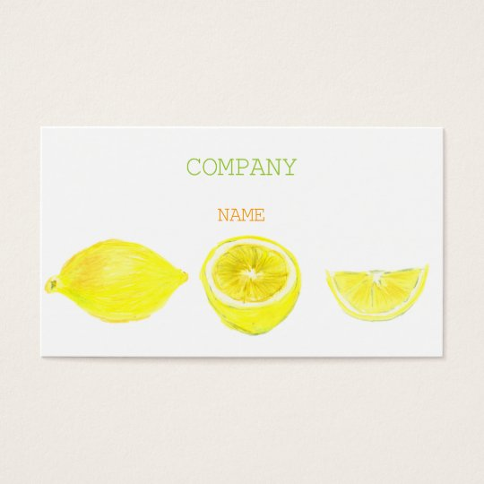 LEMON BUSINESSCARD 名刺