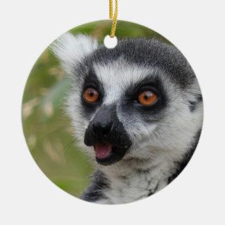 Lemurのオーナメント セラミックオーナメント