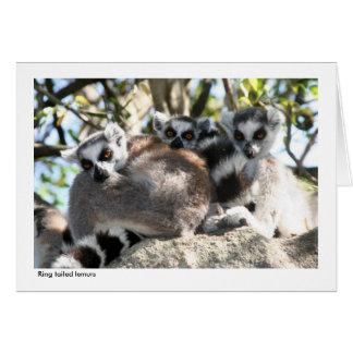 Lemurのギフトカード カード
