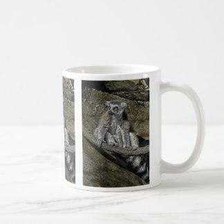 Lemurのリングの尾マグ コーヒーマグカップ