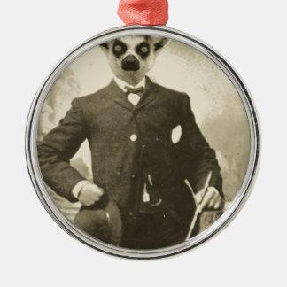 lemurの人 メタルオーナメント