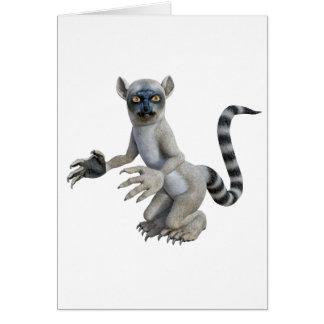Lemurの地位および見ること カード
