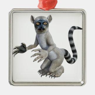 Lemurの地位および見ること メタルオーナメント