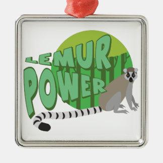 Lemur力 メタルオーナメント