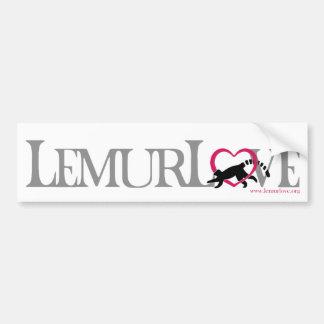 Lemur愛ステッカー バンパーステッカー