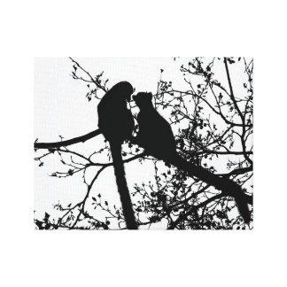Lemur愛 キャンバスプリント