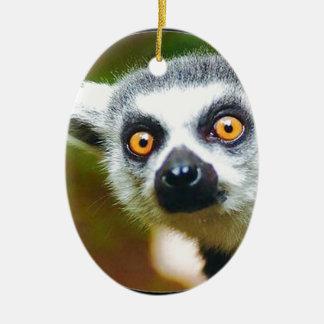 """Lemur "" セラミックオーナメント"