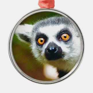"""Lemur "" メタルオーナメント"
