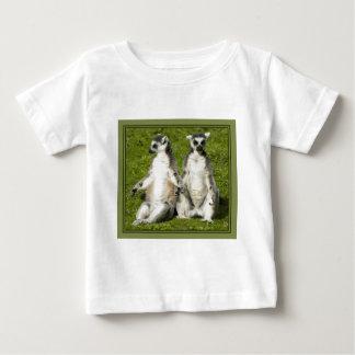 Lemur Babys T-shirt氏及び夫人 ベビーTシャツ
