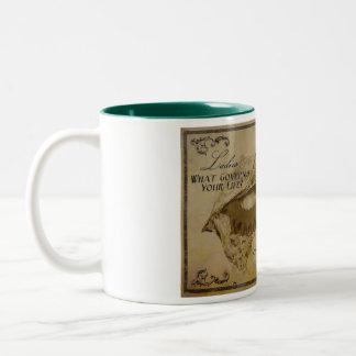 Lemur Chocolates先生 ツートーンマグカップ