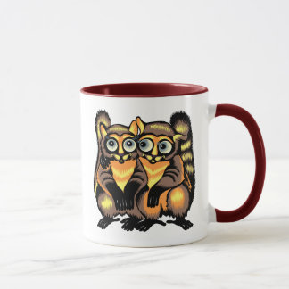 lemursのカップル マグカップ