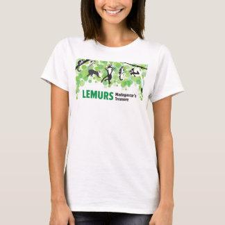 Lemursの野生のキャンペーンTシャツを保つこと Tシャツ