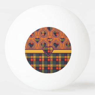 Lennieの一族の格子縞のスコットランドのキルトのタータンチェック 卓球ボール