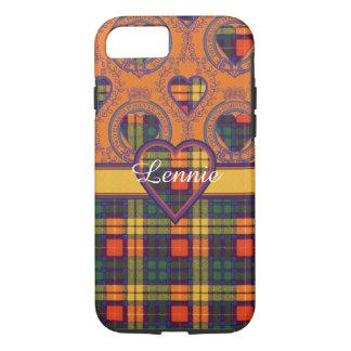 Lennieの一族の格子縞のスコットランドのキルトのタータンチェック iPhone 8/7ケース