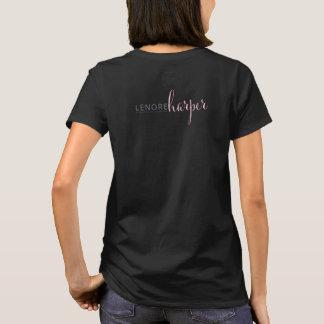 Lenoreのハープ奏者の作家のワイシャツ Tシャツ