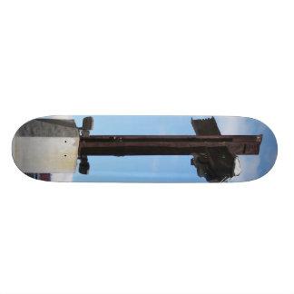 lensgerritによる世界貿易センター記念物 18.1cm オールドスクールスケートボードデッキ