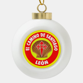 León セラミックボールオーナメント