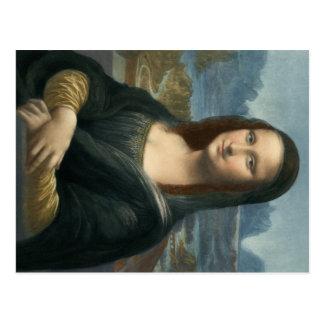 Leonarde Da Vinciモナ・リザ ポストカード