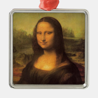 Leonardo Da Vinciモナ・リザ メタルオーナメント