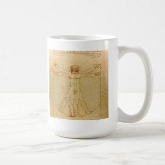 Leonardo da Vinci , Vitruvian Man コーヒーマグカップ